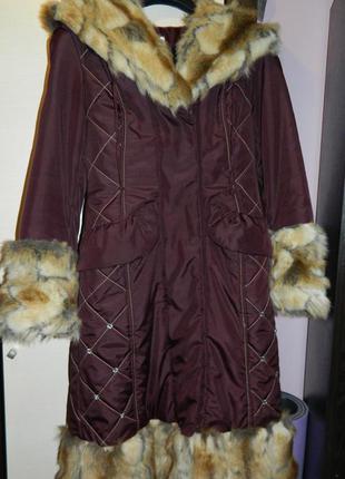 Пуховик, пальто синтепонове