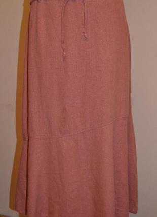 Большой выбор юбок и жакетов, льняная юбка