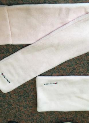 Мягкий шарф-петелька.новый,в мешочке. бренд tommy hilfiger.оригинал.