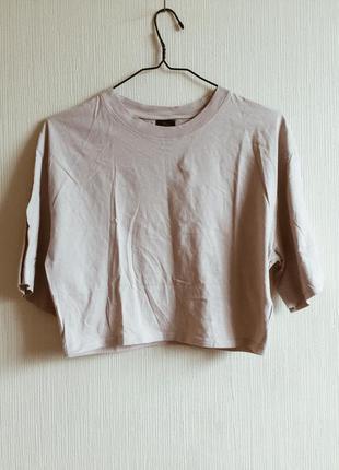 Короткая oversize футболка rihanna river island