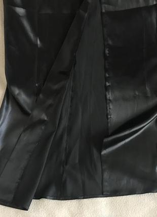 Платье серное в пол mango
