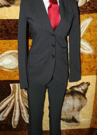 Деловой женский костюм діловий жіночий h&m 34р