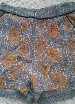 Летние легкие шорты в ретро стиле