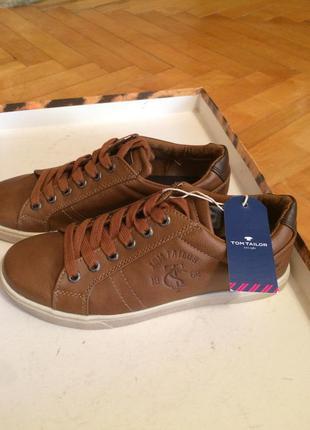 Туфли на шнуровке tom tailor 36