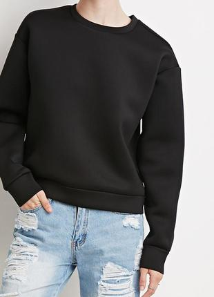 Forever21 scuba knit pullover