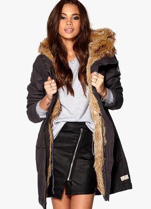 Зимняя парка, пальто, куртка с натуральным мехом