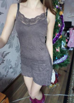 Платье-ночнушка