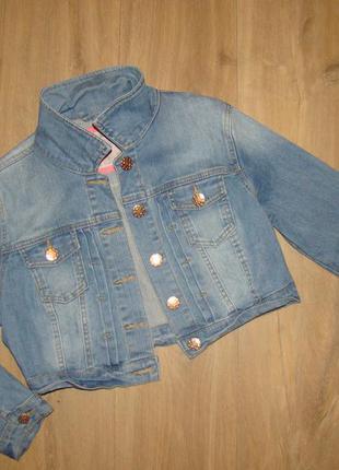 Куртка джинс-стреч 12 размер