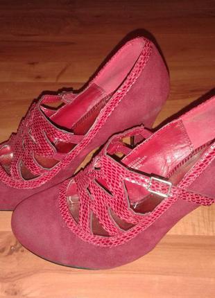 Продам туфли английской фирмы f&f