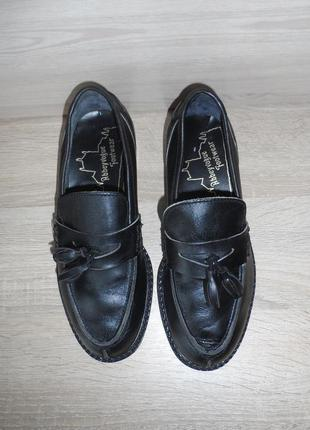 Кожаные туфли ручной работы английского дизайнера!  abbeyvogue footwear! производство англия!