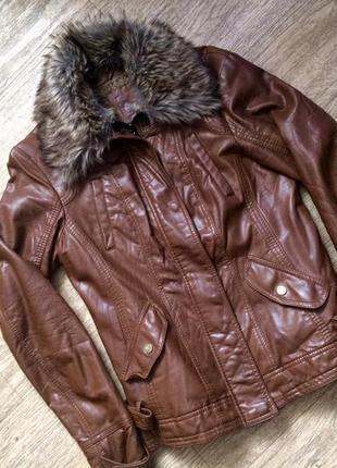Куртка хорошего кожзаменителя
