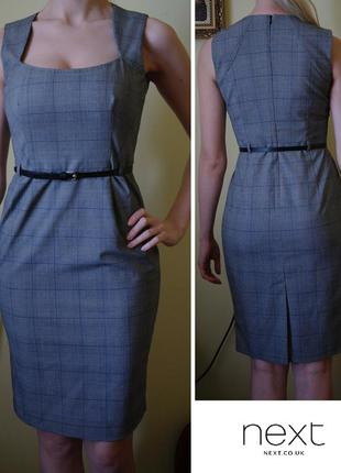 Офисное платье-футляр next