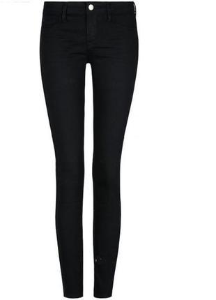 Базовые черные джинсы скинни