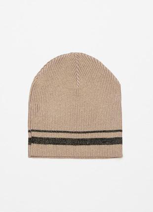 Новая трикотажная шапка zara