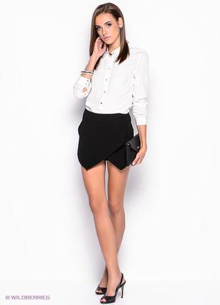 New look шорты-юбка
