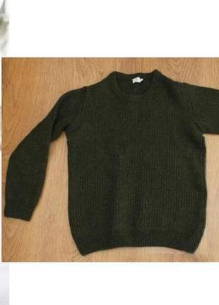 Теплый  шерстяной свитер  sunspel, 40-42р.англия.