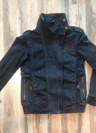 Чумовая джинсовая куртка top shop