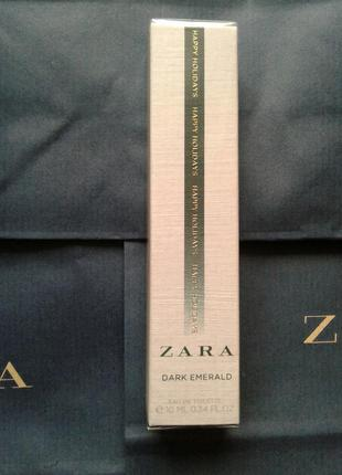 Zara dark emerald 10 ml роликовые!