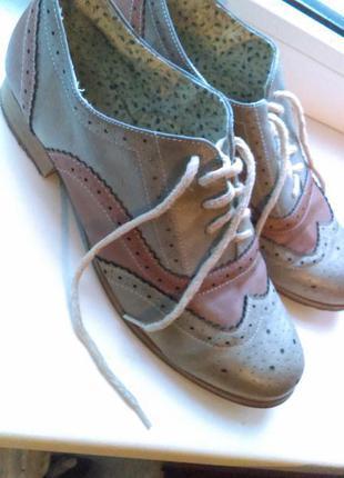 Трендовые броги от atmosphere оксфорды туфли ботинки лоферы