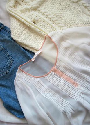 Нежнейшая блуза с длинным рукавом свободного кроя next