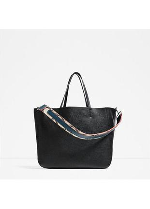 Новая сумка шоппер zara