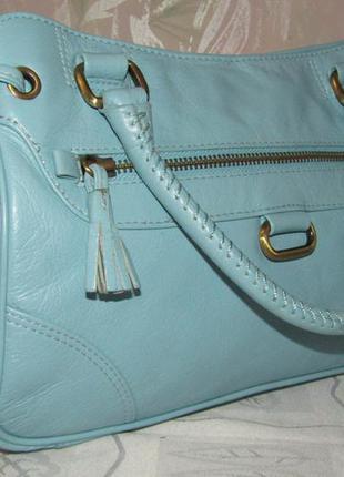 Стильная , модная сумка 100 % кожа / next /
