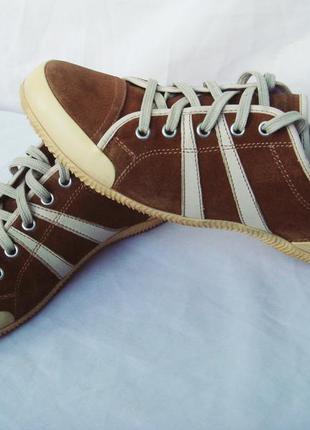 Кроссовки-мокасины-туфли geox женские, натур.кожа, р.40-41 (26,8см)