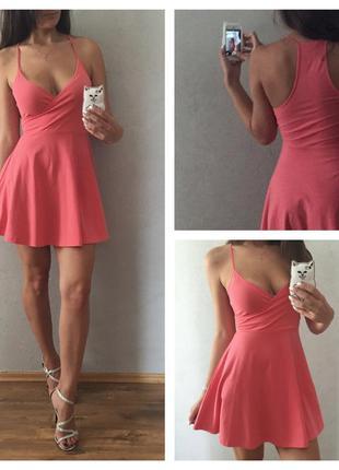 Классное летнее платье forever21