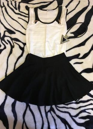 Классная юбка солнцеклеш