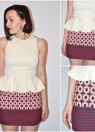 Крутая фактурная юбка