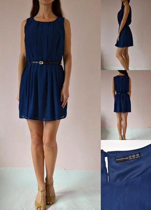 Шикарное шифоновое платье 12(m)
