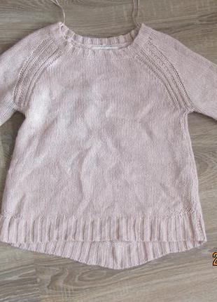 Стильный модный теплый свитер свитшот zara