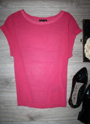 Свободная розовая блуза