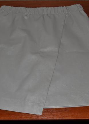 Большой выбор юбок разной длинны юбка мини под кожу с запахом 29-30размер