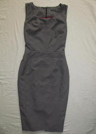 Базовое фактурное платье-футляр, платье -карандаш миди