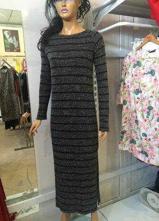 Стильна сукня міді кежуал стилю від bershka