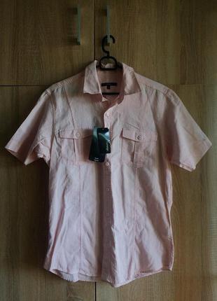 Льняная рубашка george