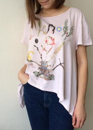 Офигенная футболка devided by h&m alexis mackenzie
