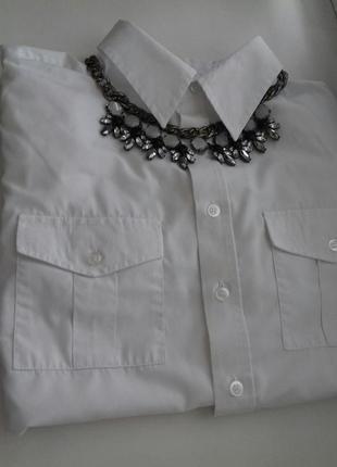 Продам блузку рубашку рубашка белая біла