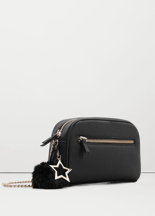 Стильна сумочка з помпоном