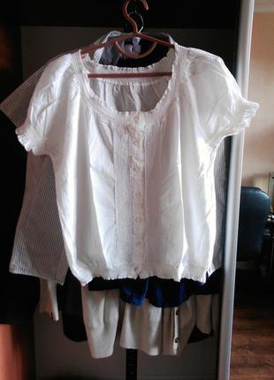 Рубашка вышиванка блузка блуза свободная