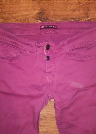 Джинсы марсала брюки штаны