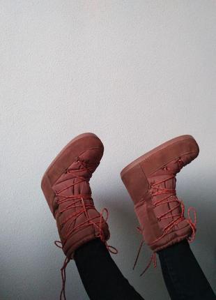 Zara moon boots