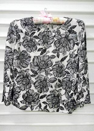 Блуза цветы new look