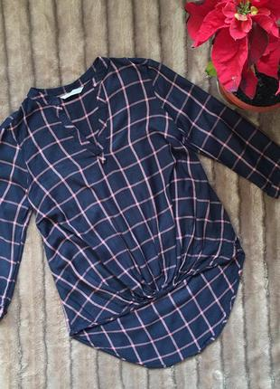 Крутая и модная блузка в клетки