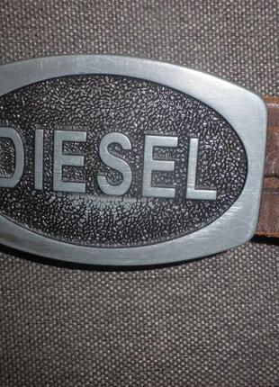 Ремінь diesel оригінал  шкіра