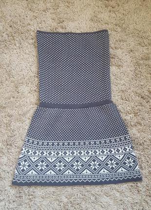 Теплое платье из голландии
