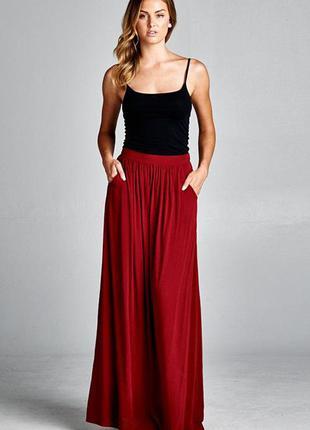 Шикарная новая юбка в стиле бохо с карманами
