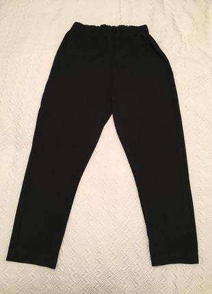 Спротивные брюки чёрные