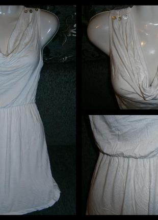 Маленькое белое платье от next